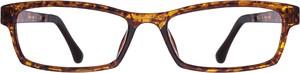 Brązowe okulary damskie Santino