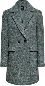 Zielony płaszcz Only w stylu klasycznym