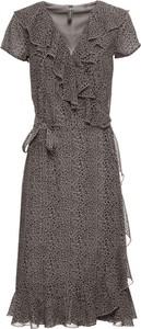 Sukienka bonprix RAINBOW midi w stylu casual z krótkim rękawem