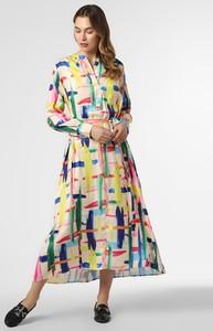 Sukienka Essentiel Antwerp z długim rękawem rozkloszowana w stylu casual