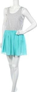 Sukienka CLOCKHOUSE bez rękawów rozkloszowana mini