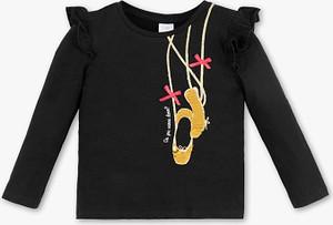 Czarna koszulka dziecięca Palomino