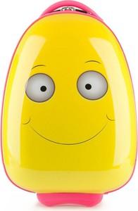 Dziecięca walizka WITTCHEN 56-3K-003 żółto-różowa
