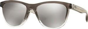 Brązowe okulary damskie Oakley