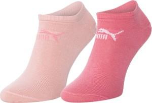Różowe skarpetki Puma