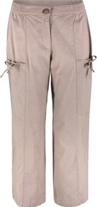 Różowe spodnie bonprix bpc bonprix collection