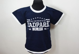 Granatowa koszulka dziecięca Mm Dadak