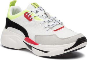 Buty sportowe Pepe Jeans ze skóry sznurowane