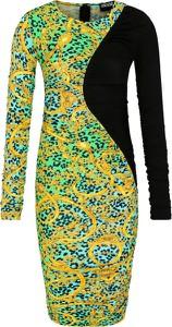 Sukienka Versace Jeans w stylu casual prosta midi
