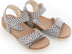 Sandały Zapato na rzepy ze skóry