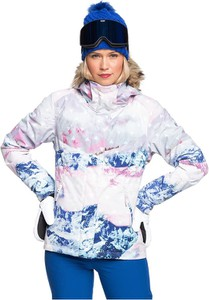 Kurtka Roxy w stylu casual z kapturem narciarska