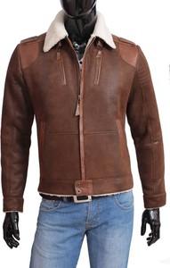 9208746fb3e5e kurtka skórzana męska zimowa. - stylowo i modnie z Allani