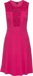 Sukienka bonprix w stylu casual mini bez rękawów