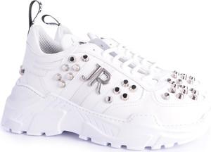 "Sneakersy John Richmond Sneakersy ""sport"" sznurowane"