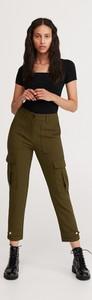 Spodnie Reserved w militarnym stylu