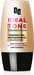 Oceanic AA Make Up Ideal Tone foundation perfekcyjne dopasowanie 109 caramel 30ml