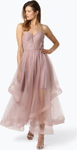 Sukienka Laona z tiulu rozkloszowana bez rękawów