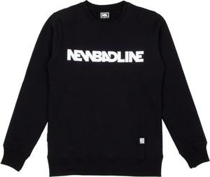 Czarna bluza New Bad Line z bawełny