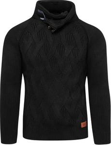 Czarny sweter Recea z wełny