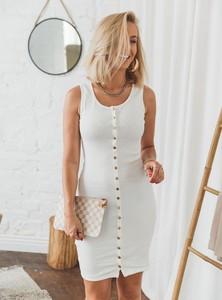 Sukienka SELFIEROOM bez rękawów mini dopasowana