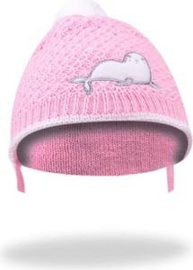 Różowa czapka YoClub