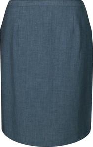 Granatowa spódnica Fokus z jeansu