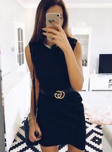 Sukienka Pakuten bez rękawów z okrągłym dekoltem mini