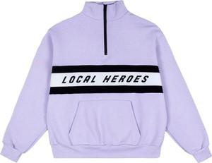 Bluza LOCAL HEROES w młodzieżowym stylu z żakardu