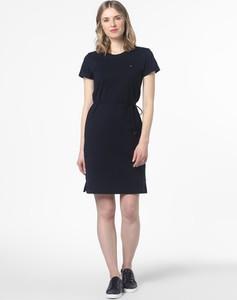 Sukienka Tommy Hilfiger z krótkim rękawem prosta