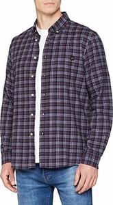 Koszula Edwin w stylu casual z długim rękawem