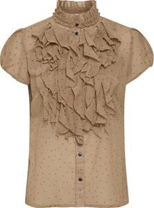 Bluzka Saint Tropez z krótkim rękawem z golfem