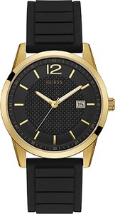eobuwie.pl Zegarek GUESS - Perry W0991G2 BLACK/GOLD TONE