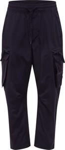 Czarne spodnie Calvin Klein z bawełny