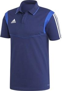 Koszulka polo Adidas z bawełny z krótkim rękawem