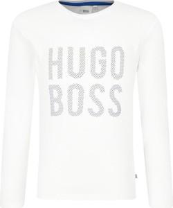 Koszulka dziecięca Boss z długim rękawem