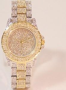 Izmael.eu Zegarek Roux - Złoty/Srebrny