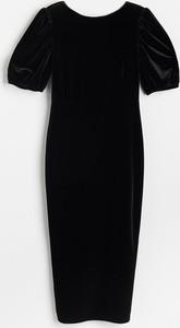 Sukienka Reserved z weluru