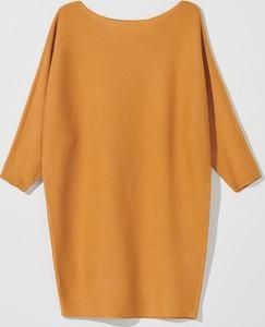 Pomarańczowy sweter Mohito w stylu casual