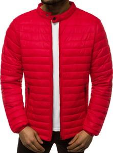 Czerwona kurtka Ozonee w stylu casual