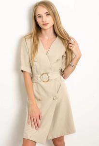 Sukienka Olika w stylu casual z krótkim rękawem