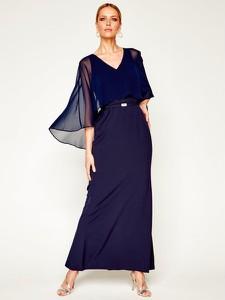 Sukienka Ralph Lauren z długim rękawem maxi