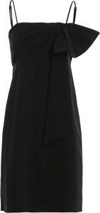 Czarna sukienka Dondup mini z dżerseju