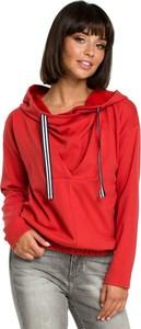 Czerwona bluzka Be