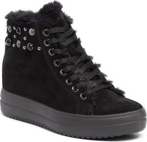 Sneakersy Igi & Co na koturnie