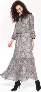 Sukienka Top Secret z tkaniny maxi w stylu casual