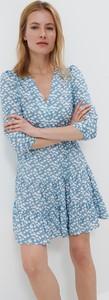Sukienka Mohito w stylu casual mini z długim rękawem