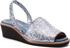 Sandały Loretta Vitale z zamszu w stylu casual