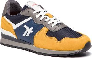Buty sportowe Togoshi w młodzieżowym stylu sznurowane