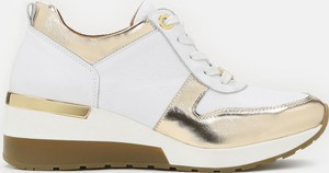 Buty sportowe Kazar sznurowane na platformie