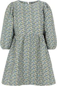 Sukienka Pieces z długim rękawem w stylu casual mini